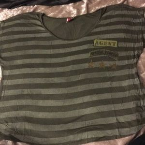 NWOT Special agent tee shirt